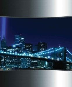 Fototapet med motivet: Utsikt Brooklyn Bridge New York City