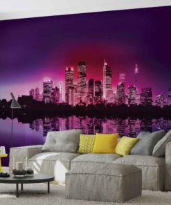 Fototapet med motivet: Staden New York Skyline