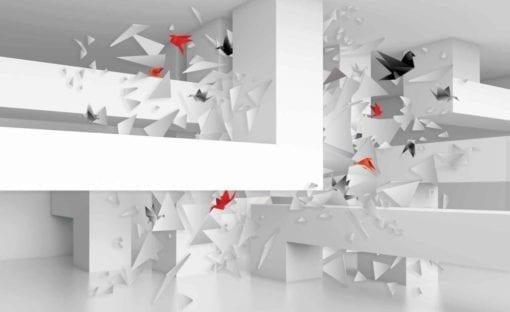 Fototapet med motivet: Abstrakt konst