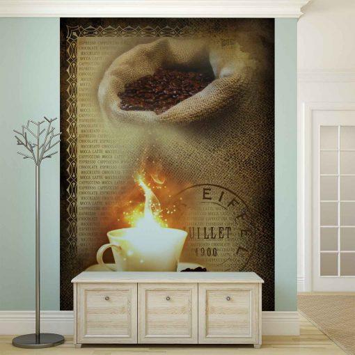 Fototapet med motivet: Kaffebönor