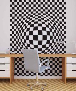 Fototapet med motivet: Geometriska figurer Rörelse