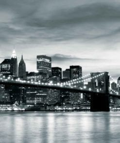 Fototapet med motivet: Stad Brooklyn Bridge New York City