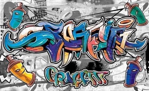 Fototapet med motivet: Graffiti Swot Art