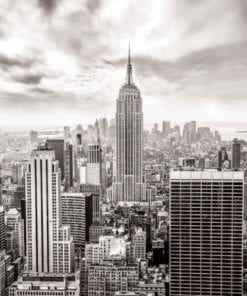 Fototapet med motivet: Stadshorisont Empire State New York