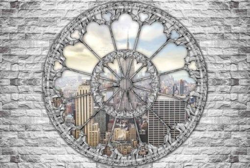 Fototapet med motivet: Utsikt Skyline Empire State New York