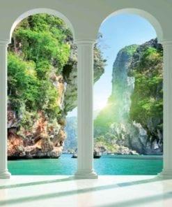 Fototapet med motivet: Tropisk Paradis Bågar