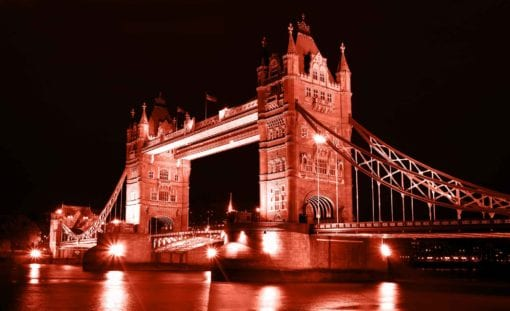 Fototapet med motivet: London Tower Bridge