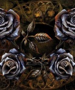 Fototapet med motivet: Alkemi Rosor Tatuering