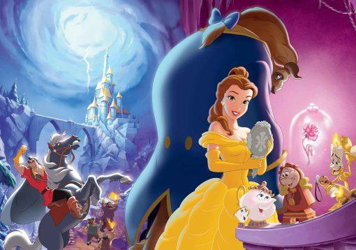 Fototapet med motivet: Disney Prinsessor Belle Beauty Beast