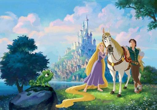 Fototapet med motivet: Disney Princesses Rapunzel  Prinsessor