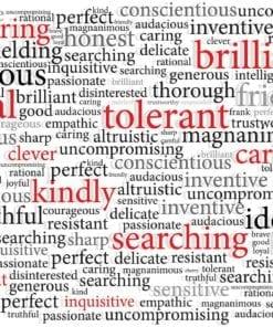Fototapet med motivet: ord Motiverande