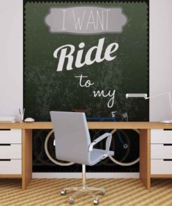Fototapet med motivet: Racing Cykel