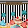 Fototapet med motivet: Cupcakes Retro