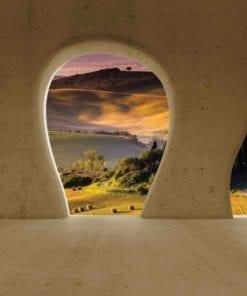 Fototapet med motivet: Landskap Naturn Utsikt Modern