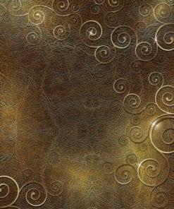 Fototapet med motivet: Abstrakt mönster virvlar runt