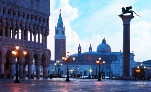 Fototapet med motivet: Staden Venedig San Marco