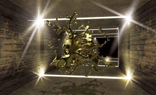 Fototapet med motivet: 3D Modern konst abstrakt