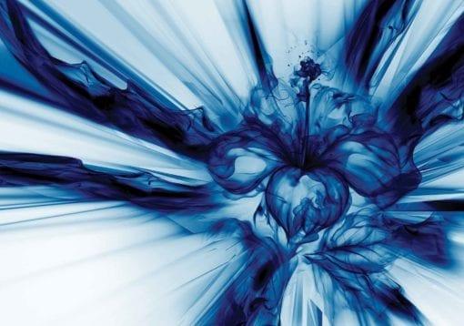 Fototapet med motivet: Abstrakt Konst Bå
