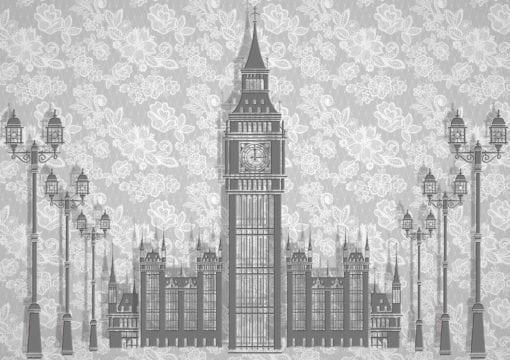 Fototapet med motivet: Abstrakt London Design