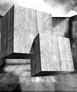 Fototapet med motivet: Abstrakt Modern Betong