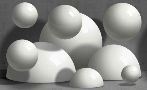Fototapet med motivet: Abstrakt Monokrom Modern design