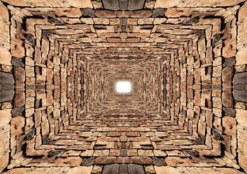 Fototapet med motivet: Abstrakt Sten Design