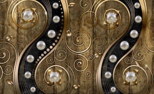 Fototapet med motivet: Abstrakt Virvel Design