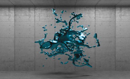 Fototapet med motivet: Abstrakt betong Färg Design