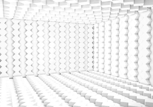 Fototapet med motivet: Abstrakt modern 3D