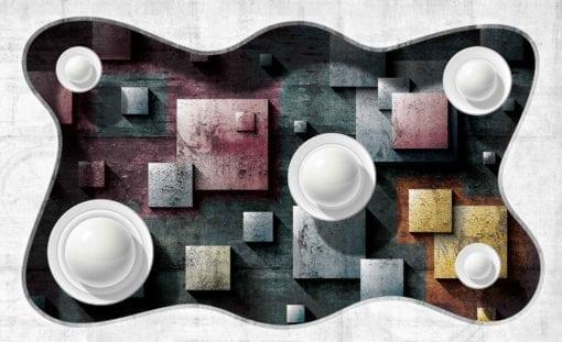 Fototapet med motivet: Abstrakt modern Design konst Sfär