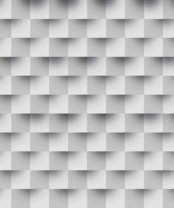 Fototapet med motivet: Abstrakt modern svart vit