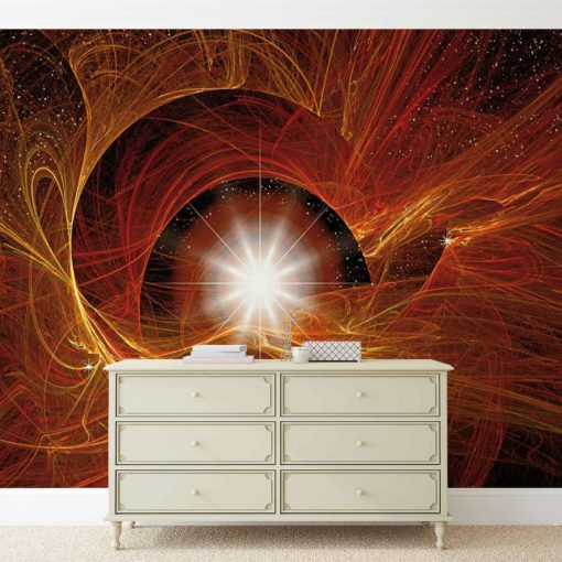 Fototapet med motivet: Abtract Universe Ljus Natur