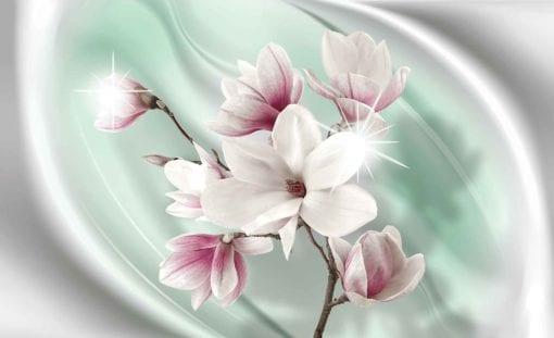 Fototapet med motivet: Blomma Magnolia