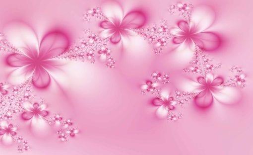 Fototapet med motivet: Blommor Abstrakt Natur