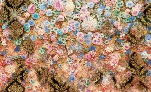 Fototapet med motivet: Blommor Färg Design