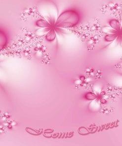 Fototapet med motivet: Blommor Hem Rosa
