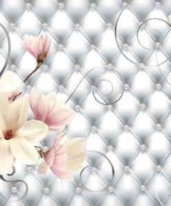 Fototapet med motivet: Blommor Mönster Abstrakt