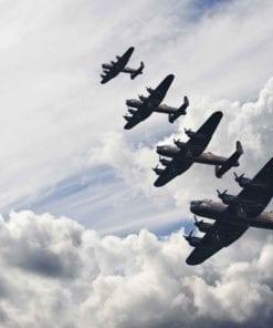 Fototapet med motivet: Bomber plan