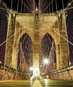 Fototapet med motivet: Brooklyn Bridge New York