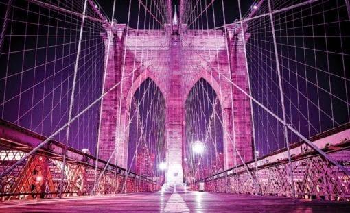 Fototapet med motivet: Brooklyn Bridge New York