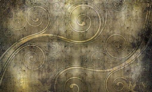 Fototapet med motivet: Celtic Virvel Rustik Textur