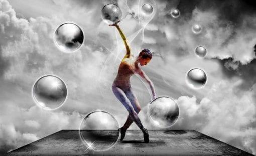 Fototapet med motivet: Dansr Sammanfattning