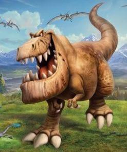 Fototapet med motivet: Disney Den Goda Dinosaurien Pojke sovrum