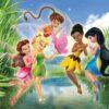 Fototapet med motivet: Disney Fairies Rostta Iridessa Fawn