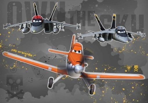 Fototapet med motivet: Disney Flygplan