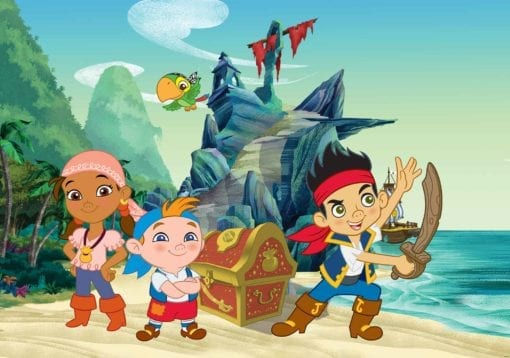 Fototapet med motivet: Disney Jake Neverland Pirater