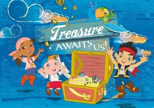 Fototapet med motivet: Disney Jake Neverland Pirater