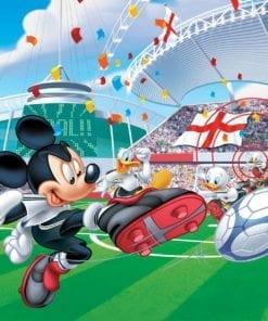 Fototapet med motivet: Disney Mickey Mouse Musse pigg