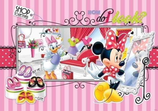 Fototapet med motivet: Disney Mimmi Pigg Daisy Duck