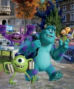 Fototapet med motivet: Disney Monsters Inc